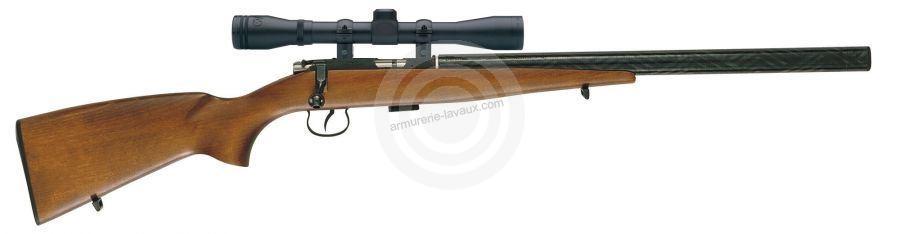 Carabine 22LR CZ 513 Farmer Silence avec lunette BAUER 3-9x40