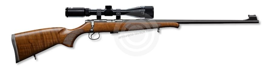 Carabine 22LR CZ 455 Luxe II avec lunette HAWKE Varmint 4-16x44 Mildot