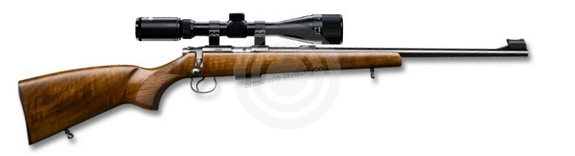 Carabine 22LR CZ 455 Luxe avec lunette HAWKE Varmint 4-16x44 Mildot