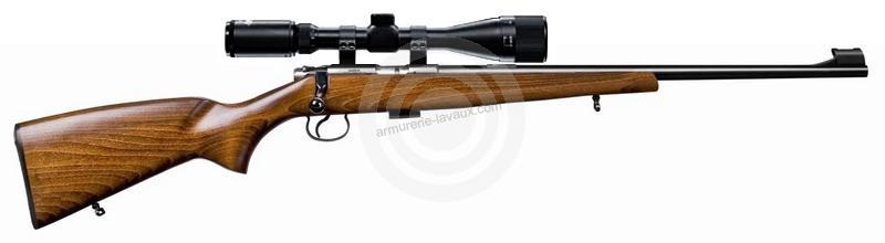 Carabine 22LR CZ 455 Standard avec lunette HAWKE Varmint 4-16x44 Mildot