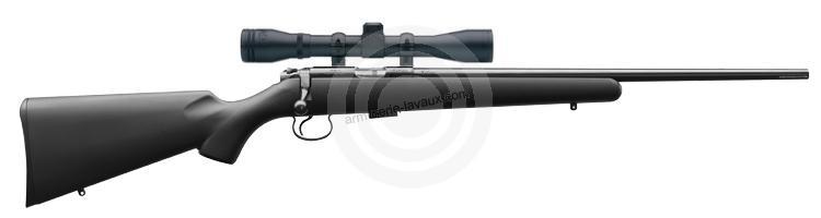 Carabine 22LR CZ 455 Synthétique avec lunette BAUER 3-9x40