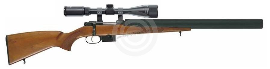 Carabine CZ 527 Luxe Custom Silence cal.222 Rem ''lunette LYNX Varmint 6-24x42 AO''