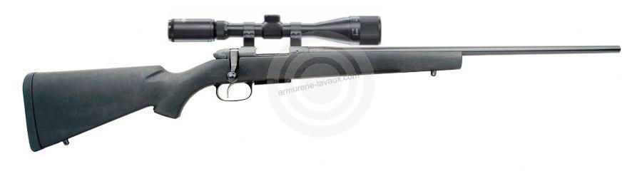 Carabine CZ 527 Synthetic cal.222 Rem avec lunette HAWKE 6-24x44 Mildot