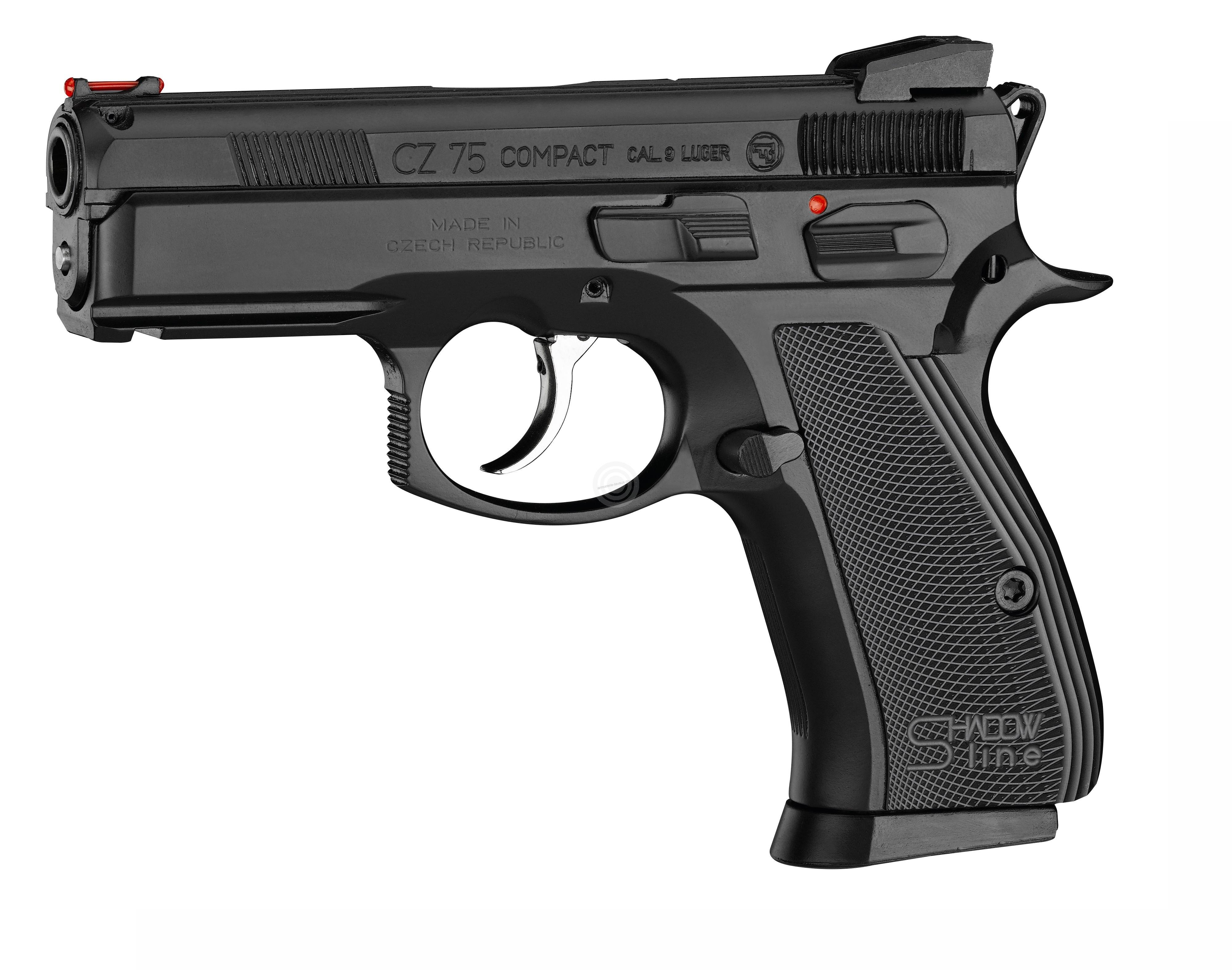 Pistolet CZ 75 Compact Shadow Line calibre 9x19