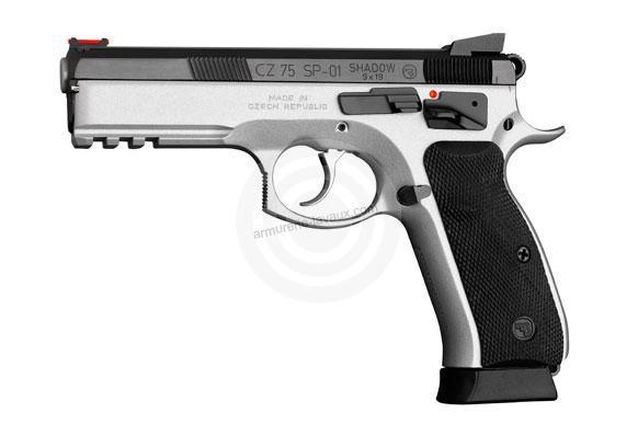 Pistolet CZ 75 SP01 Shadow Dualtone calibre 9x19