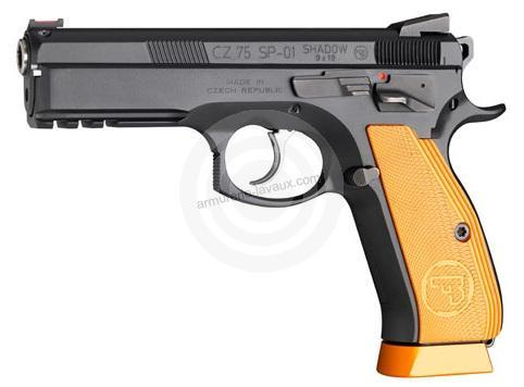 Pistolet CZ 75 SP01 Shadow Orange calibre 9x19