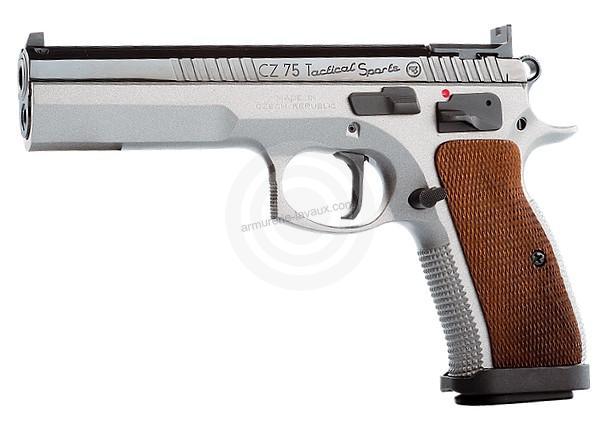 Pistolet CZ 75 Tactical Sport calibre 9x19