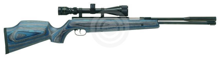 Carabine à air comprimé WEIHRAUCH HW 97K Lamellé ''lunette LYNX 3-9x40''
