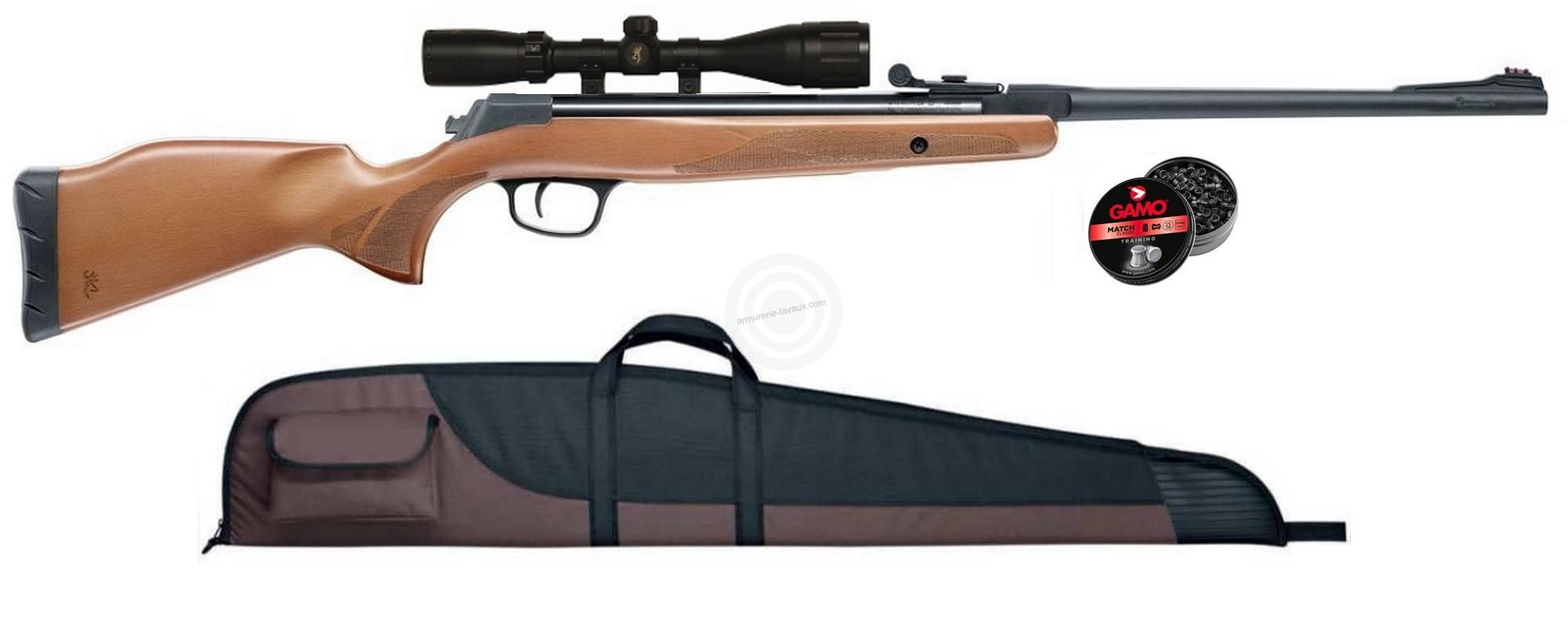 Carabine BROWNING X-BLADE HUNTER cal.4,5mm ''lunette BROWNING 4x32