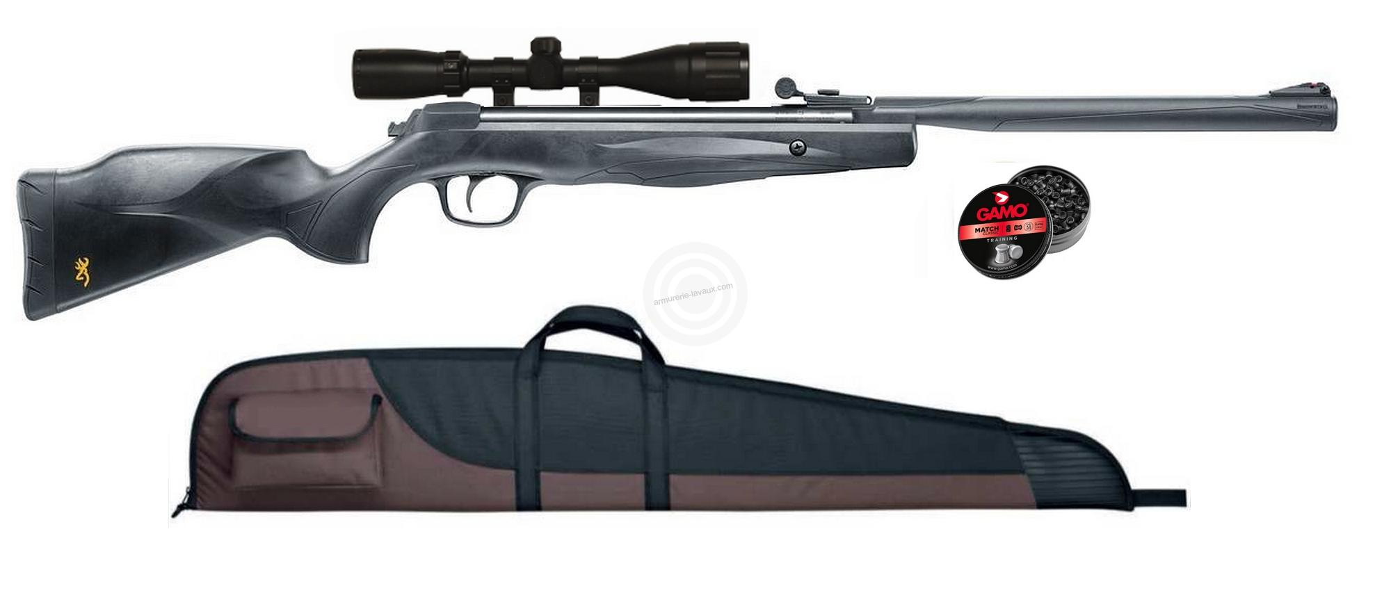 Carabine BROWNING X-BLADE cal.4,5mm ''lunette BROWNING 4x32