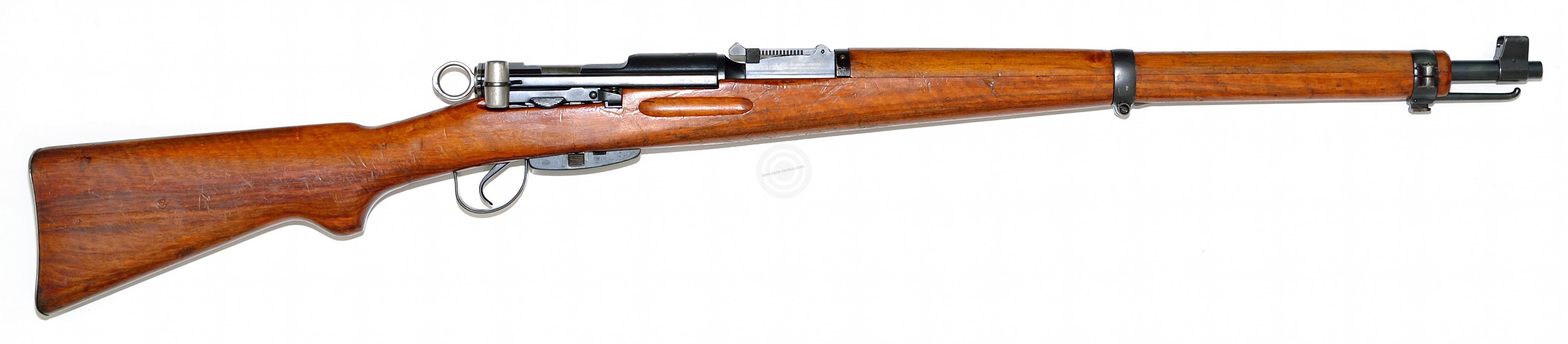 Carabine mousqueton K31 Swiss cal.7.5x55 Swiss (TRES BON)