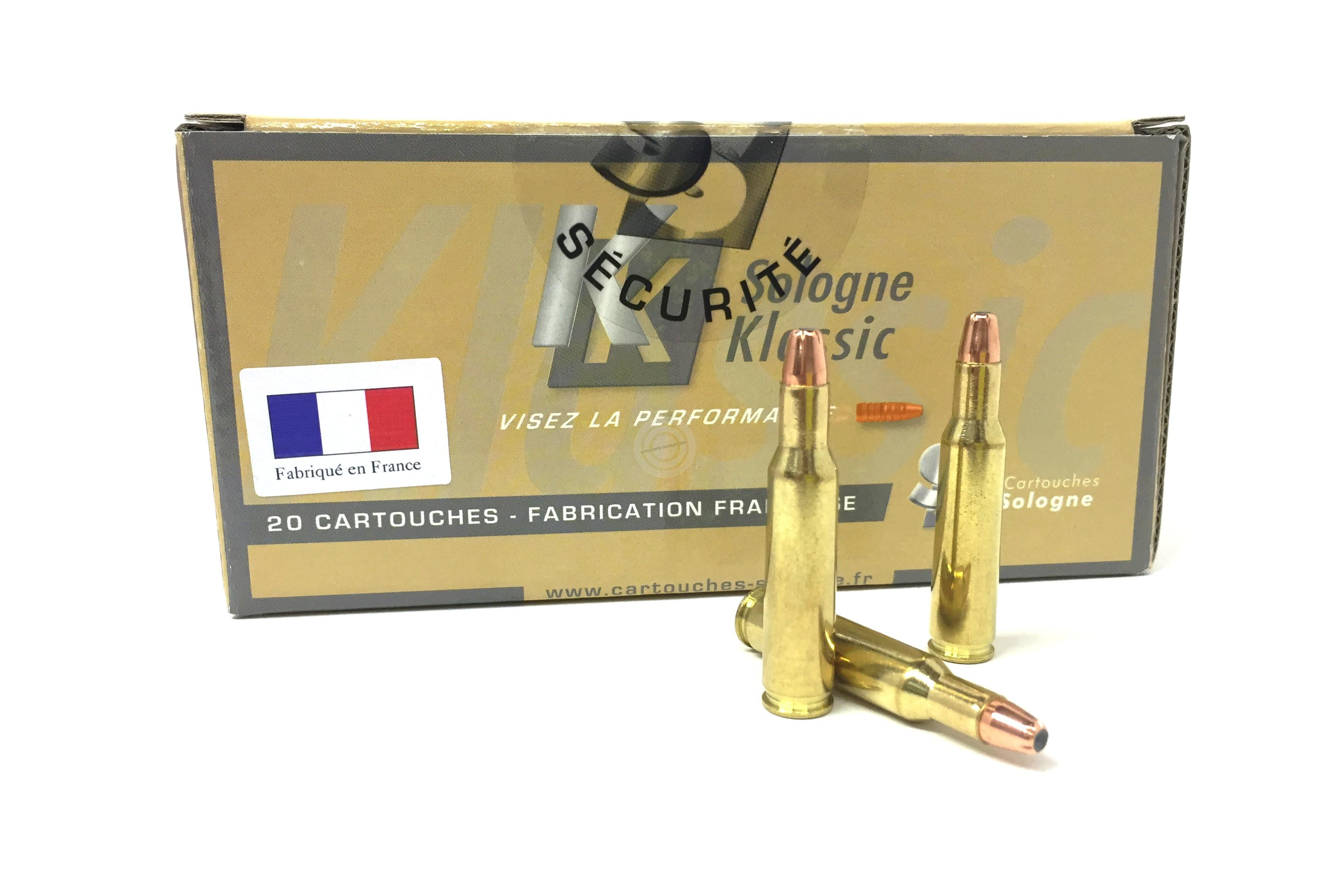 SOLOGNE cal.222 Win SUBSONIC 45 gr