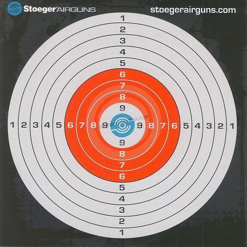 Cibles 14x14 STOEGER (paquet de 100)