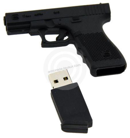 Clé USB pistolet GLOCK 17 Génaration 5 (8 GB)