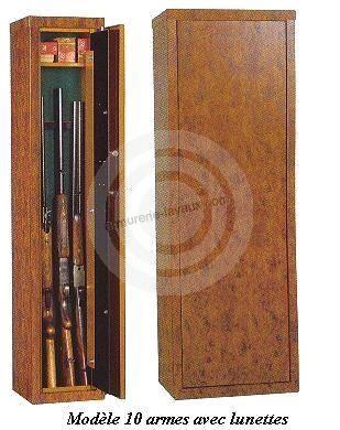 Coffre pour armes KL10 Bruyère