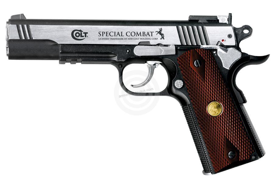 Pistolet COLT Spécial Combat UMAREX cal.4,5mm BBS