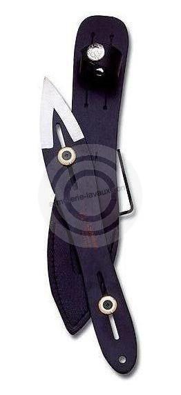 Couteau à lancer CUDEMAN NOIR 25,5 cm