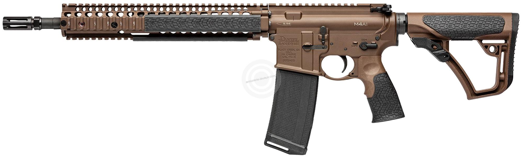 DANIEL DEFENSE M4A1 Brown Mil Spec 14.5
