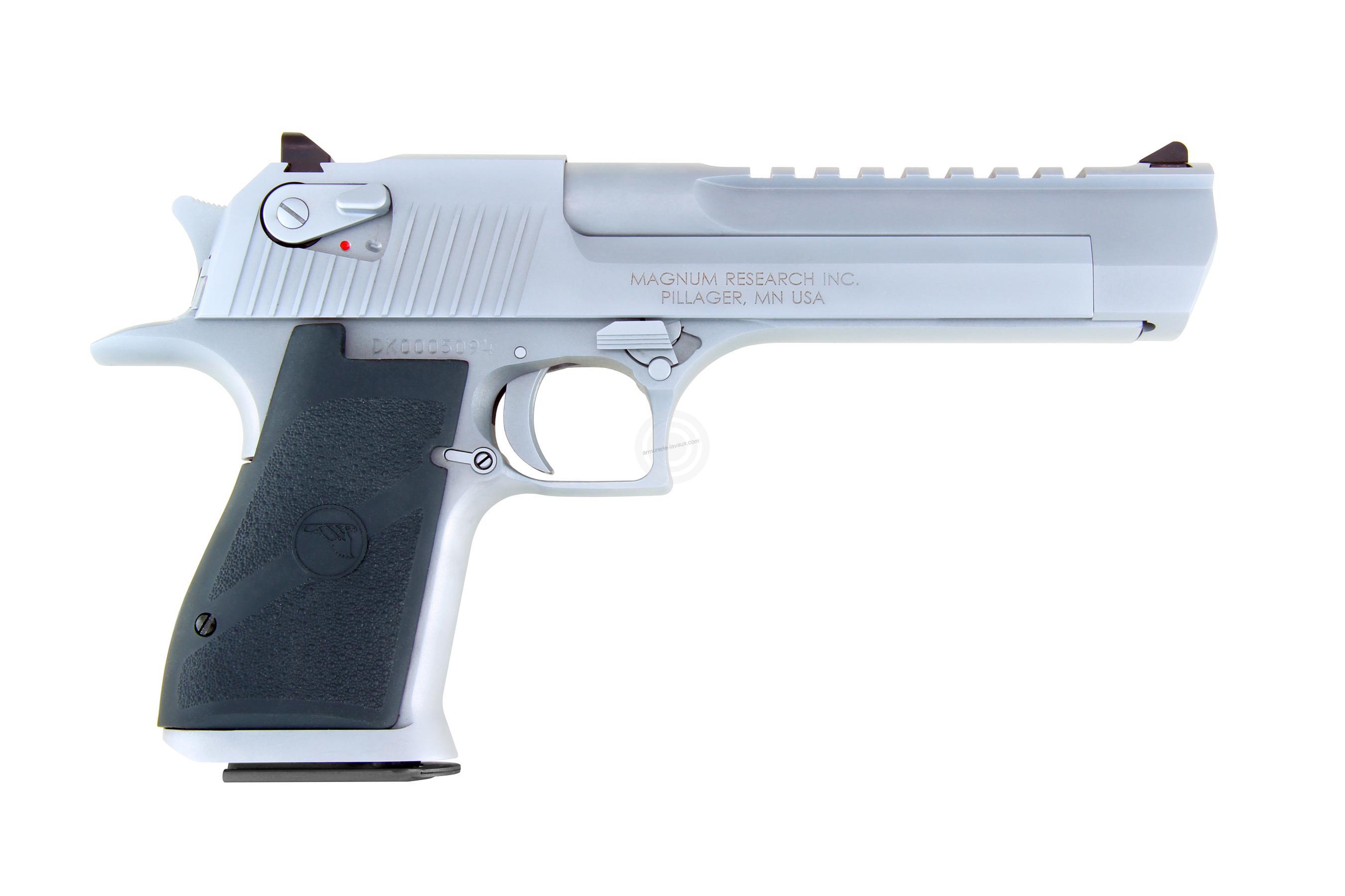 Pistolet DESERT EAGLE Chromé Mat 6