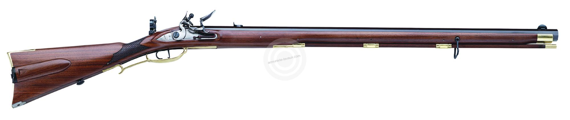Carabine à poudre noire PEDERSOLI Jaeger Target à silex Cal .54