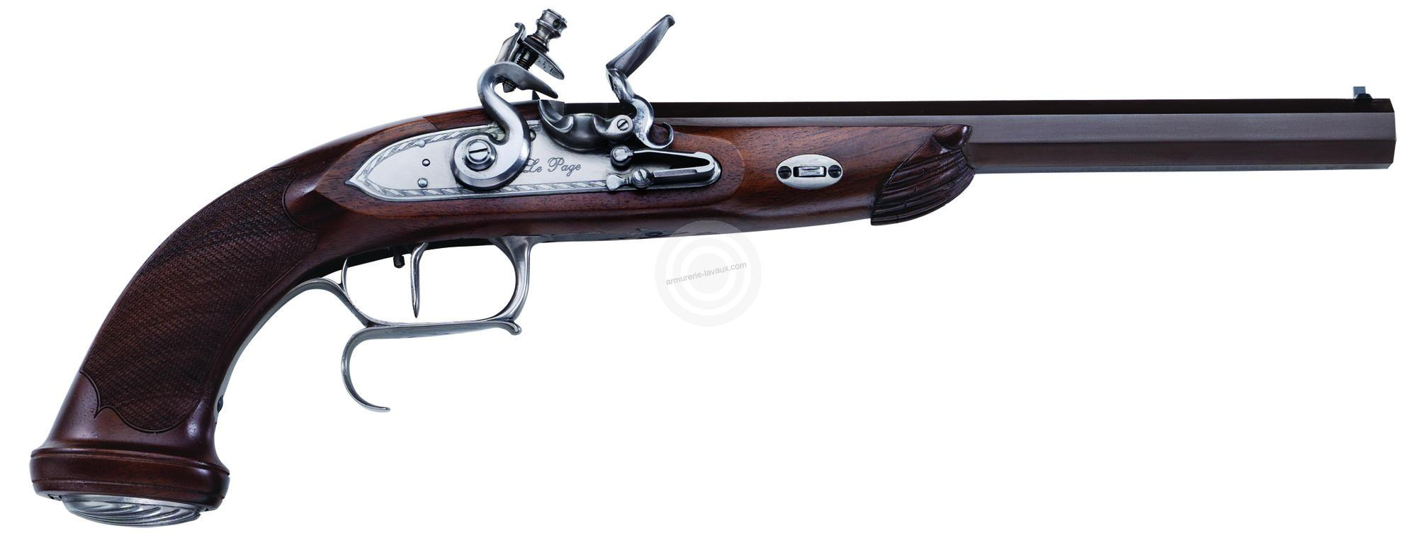 pistolet poudre noire pedersoli le page silex canon ray armes poudre noire sur. Black Bedroom Furniture Sets. Home Design Ideas