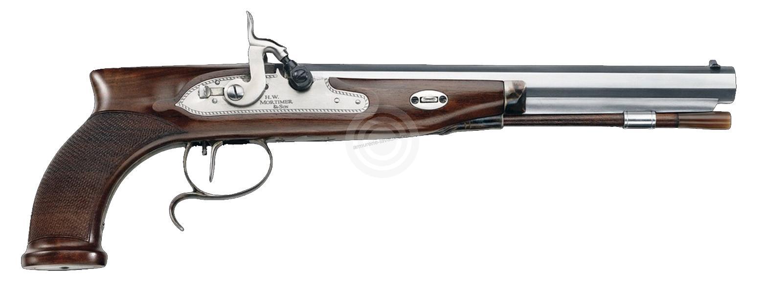 Pistolet à poudre noire PEDERSOLI Mortimer à percussion cal.44