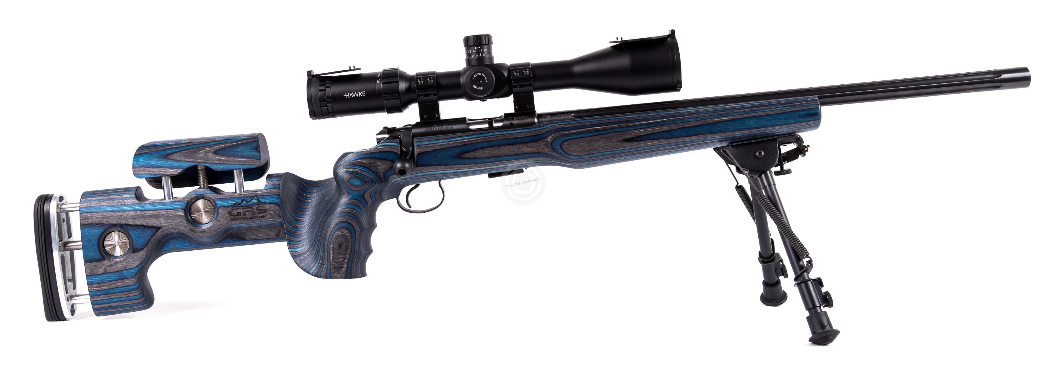 Carabine 22lr cz 455 varmint grs avec lunette hawke - Crosse cz 455 ...