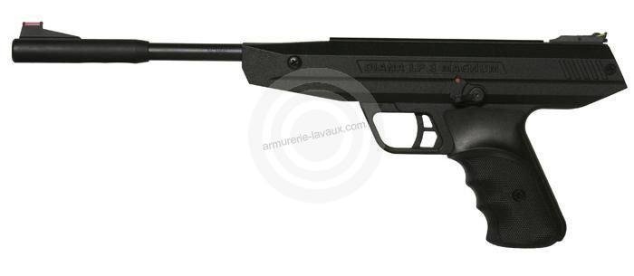 Pistolet à plombs Diana LP 8 Magnum (7,5 joules)