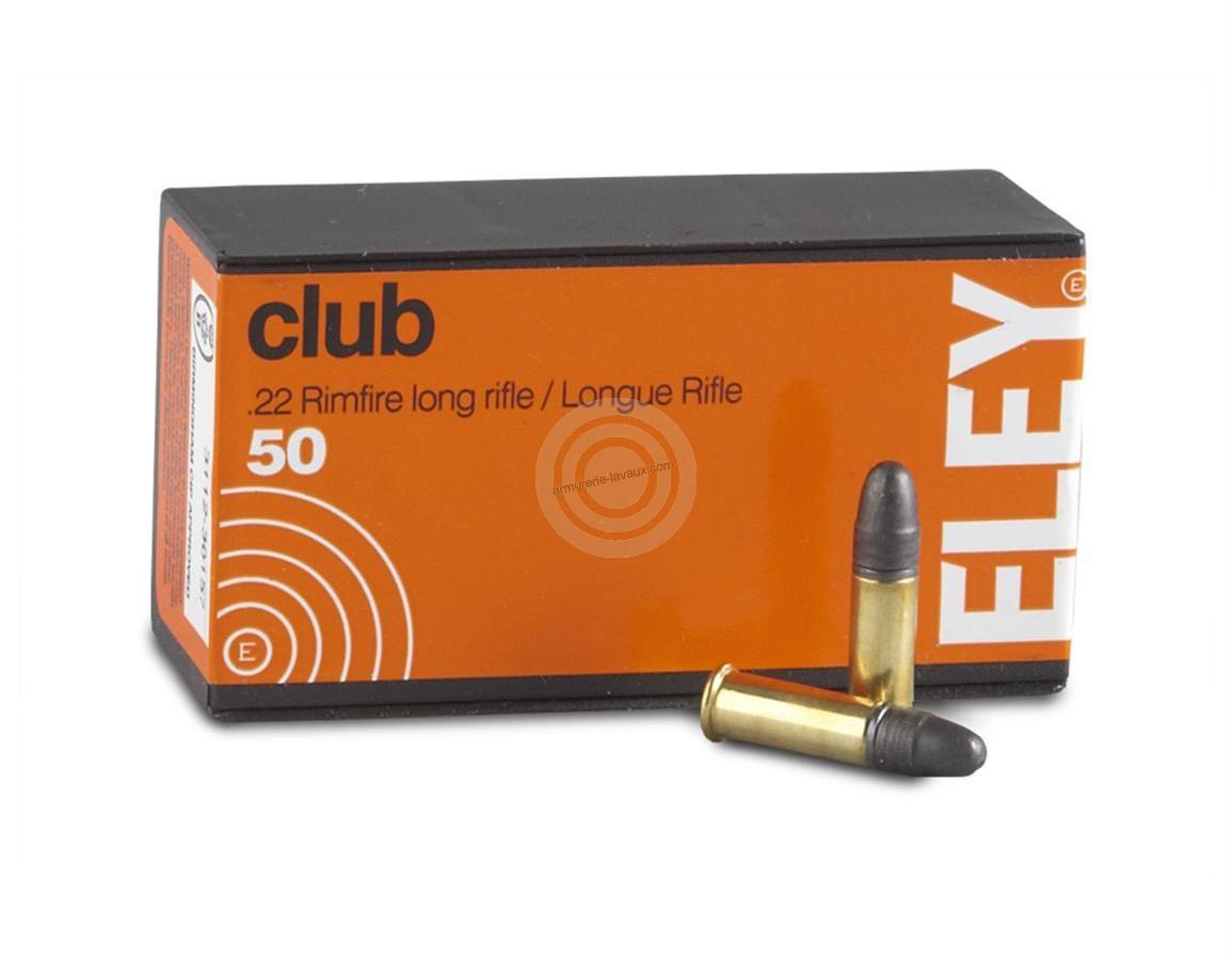 ELEY Club cal.22 Lr /50