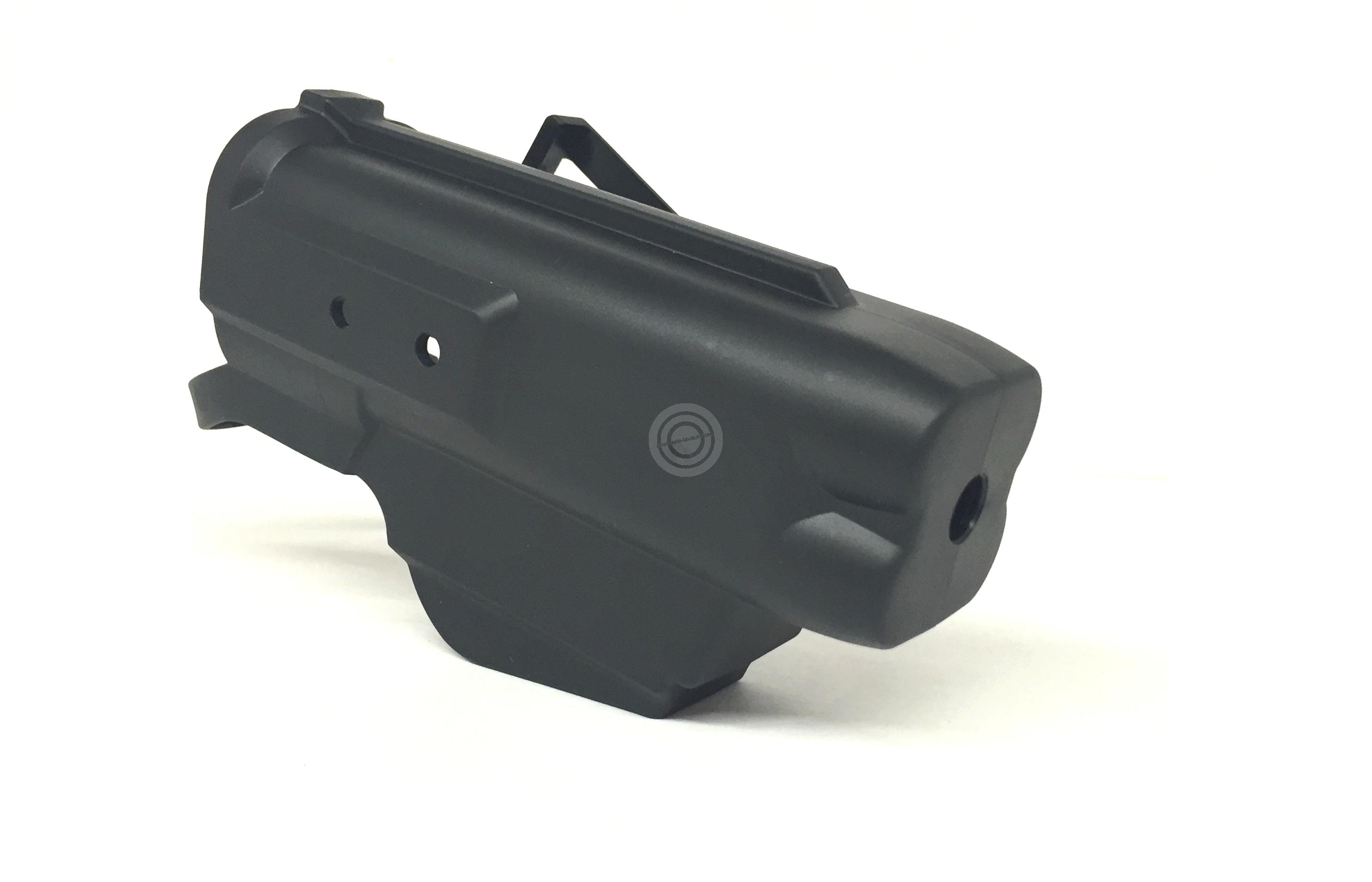 Holster rapide Kydex JPX4 ''special police'' (modèle 4 coups)