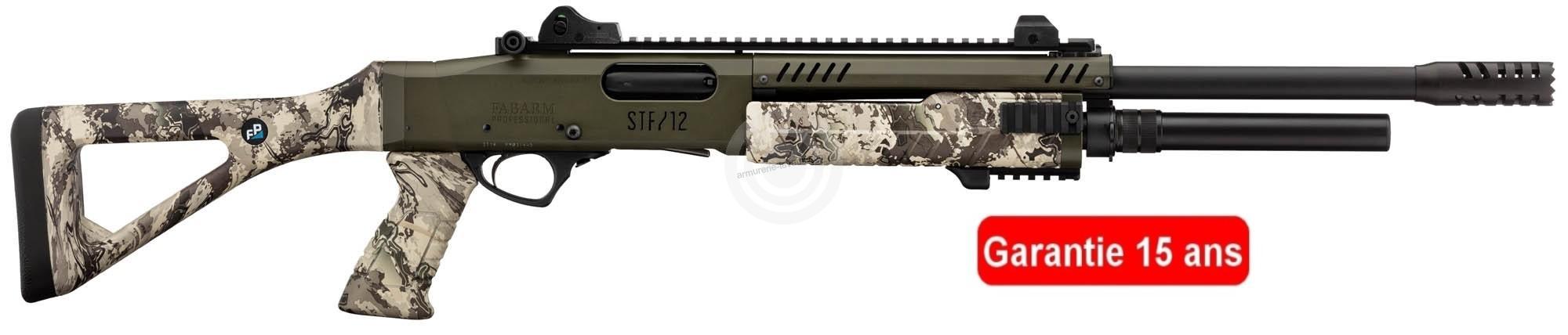 Fusil à pompe FABARM STF12 Tactical Professionnal VIPER (46 cm) cal.12/76