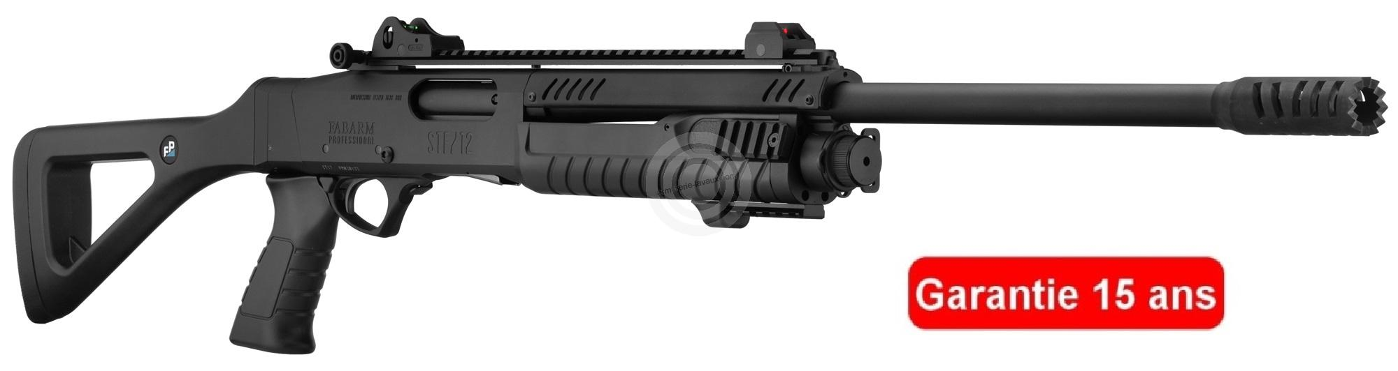 Fusil à pompe FABARM STF12 Tactical Professionnal cal.12/76