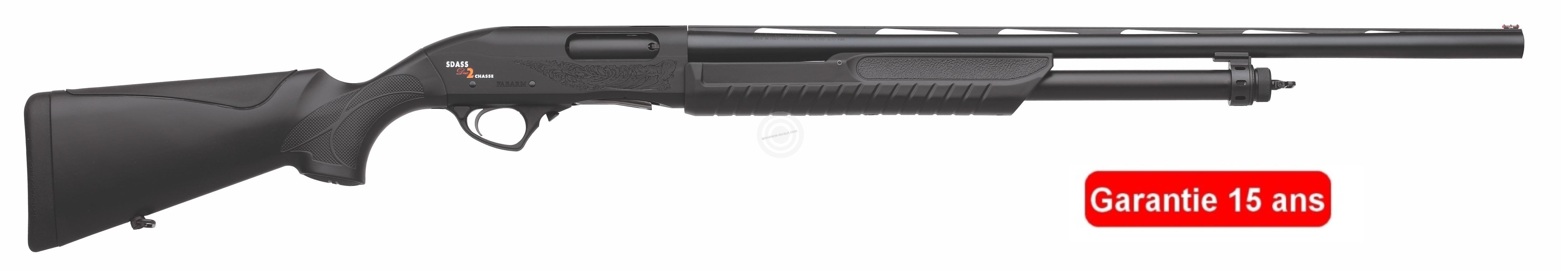 Fusil à pompe FABARM SDASS Compo Chasse cal.12/76 (canon de 66cm)