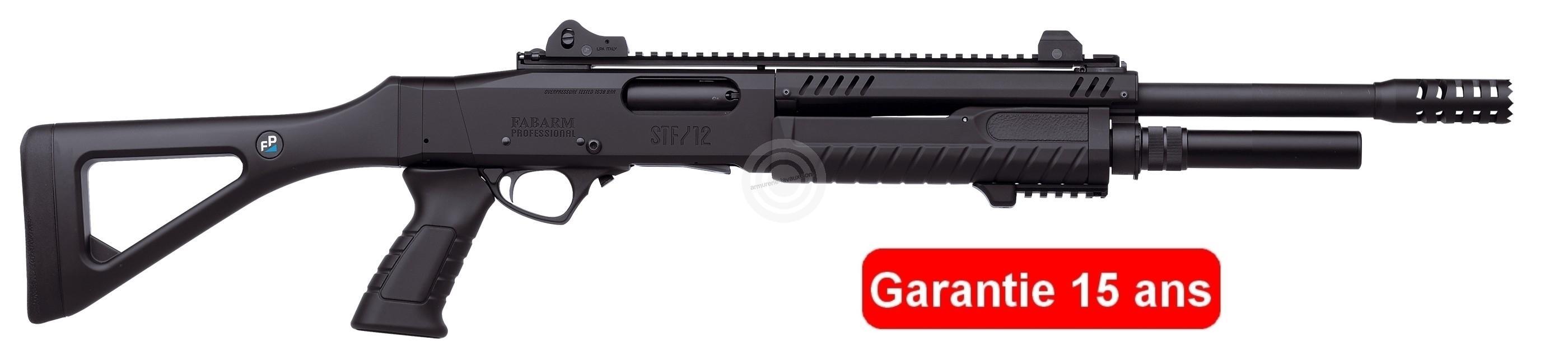 Fusil à pompe FABARM STF12 Tactical Professionnal (46 cm) cal.12/76