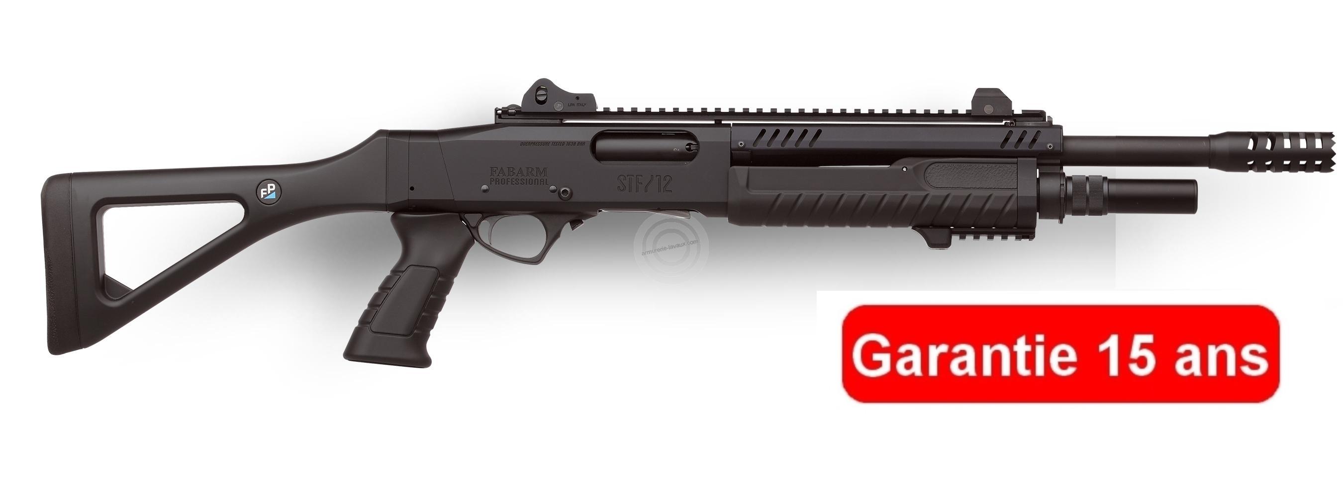 Fusil à pompe FABARM STF12 Pistolgrip 14