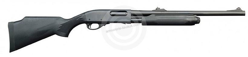 Fusil � pompe REMINGTON 870 Synth�tique Slug cal.12/76 (canon ray� de 51 cm)