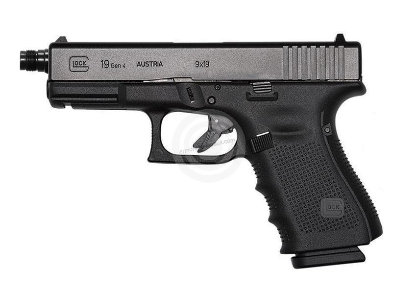 Pistolet GLOCK 19 Gen4 Fileté cal.9x19