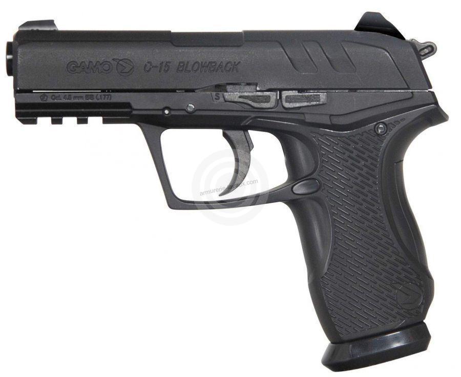 Pistolet GAMO C-15 Blow back cal.4,5 mm