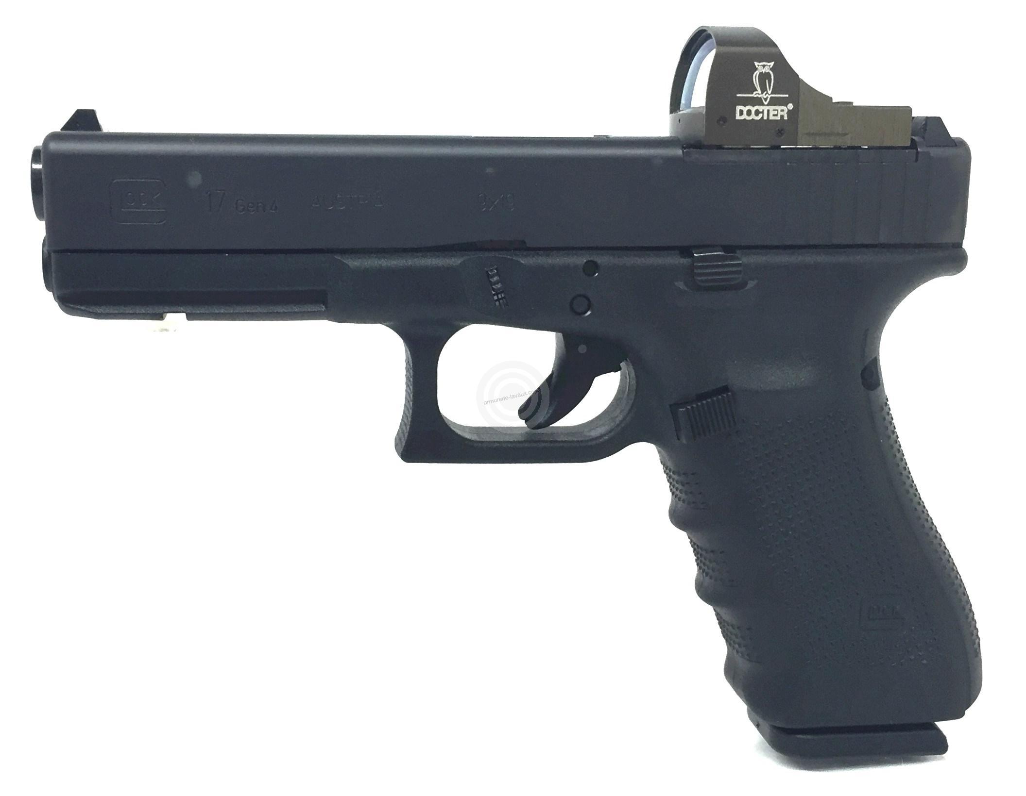 Pistolet GLOCK 17 Gen4 MOS Docter Sight II cal.9x19