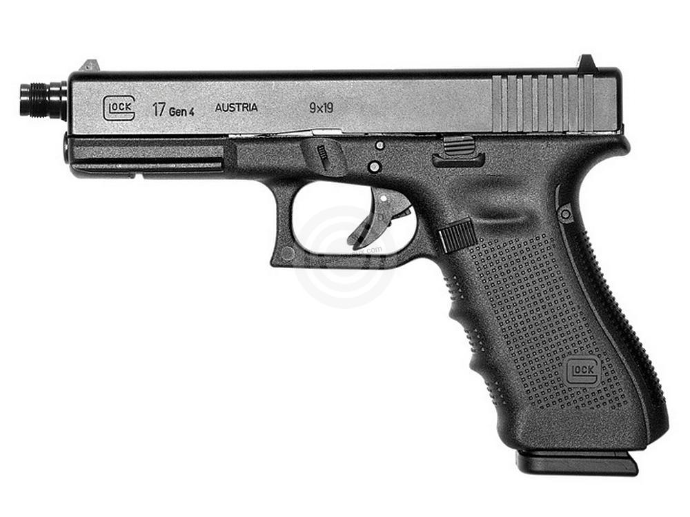 Pistolet GLOCK 17 Gen4 Fileté cal.9x19