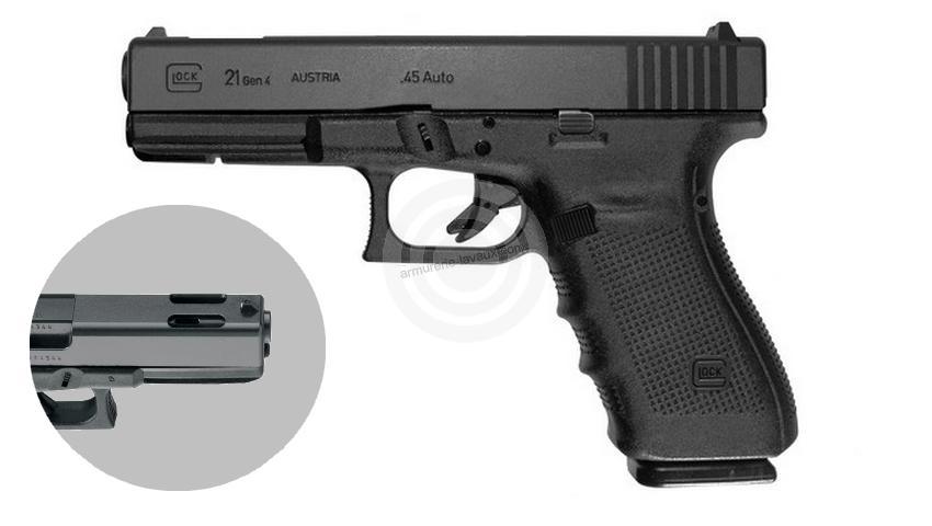 Pistolet GLOCK 21C Gen4 cal.45 ACP