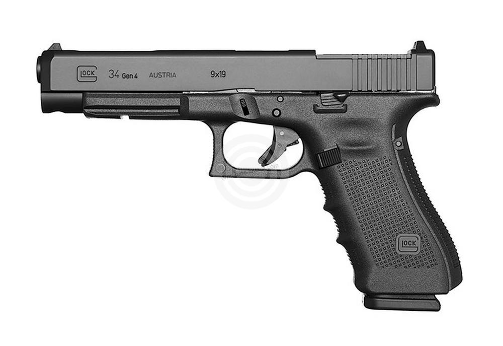 Pistolet GLOCK 34 Gen4 MOS cal.9x19
