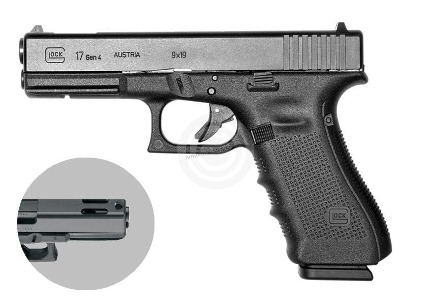 Pistolet GLOCK 17C Gen4 cal.9x19
