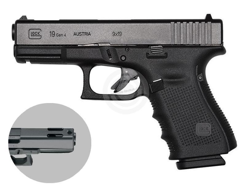 Pistolet GLOCK 19C Gen4 cal.9x19