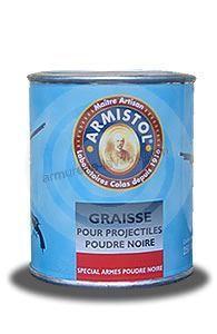 Graisse lubrifiante spéciale pour projectiles à poudre noire