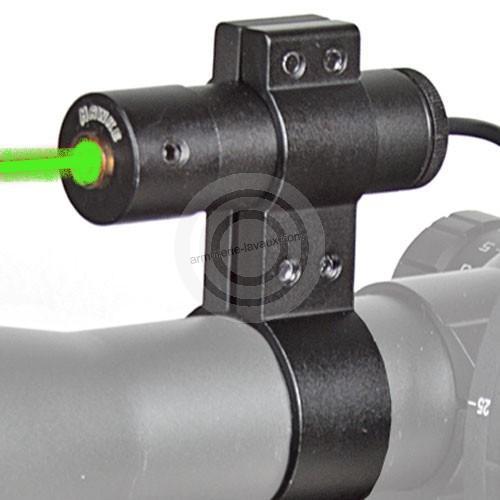 Laser tactique vert HAWKE pour lunette et rail picatinny
