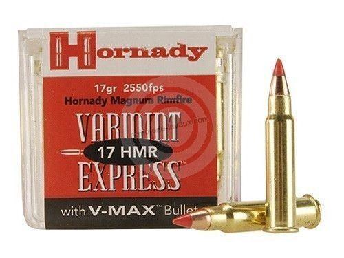 HORNADY 17 HMR V-max /50