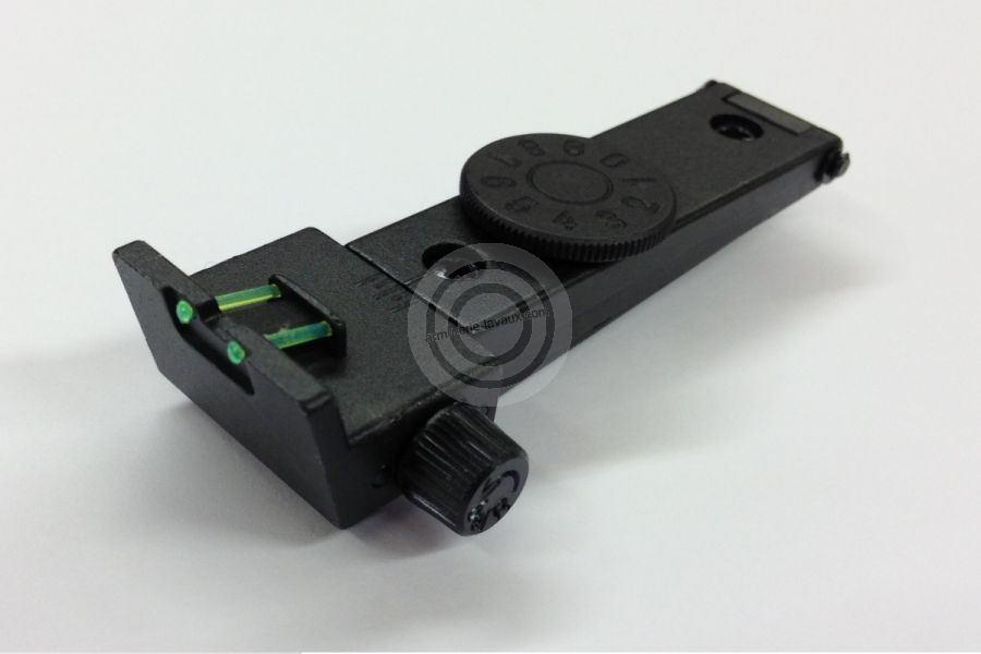 Hausse réglable Fibre Optique DIANA en acier