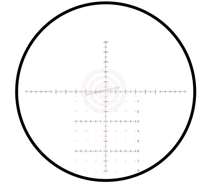 lunette de tir hawke sidewinder ed range 10