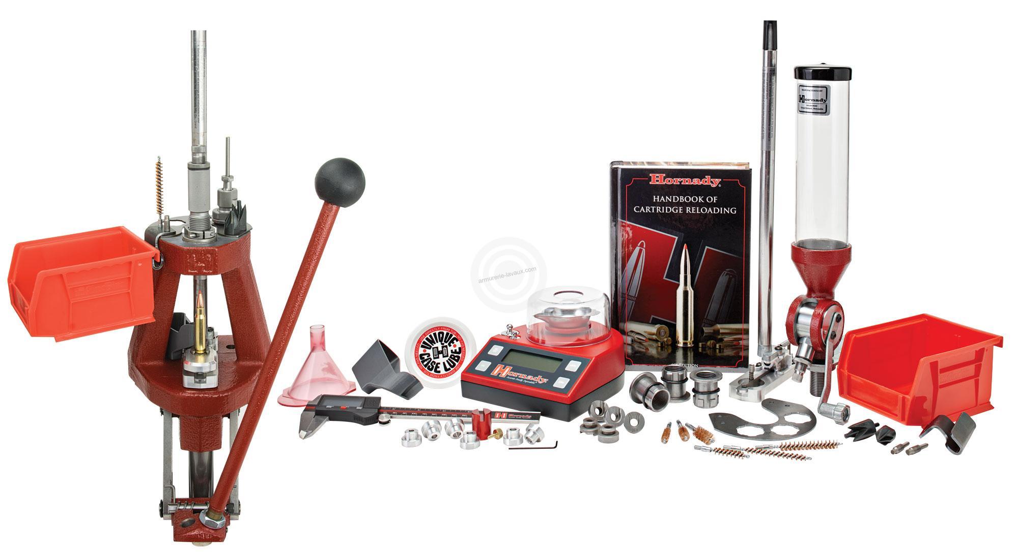 presse hornady lock n load iron kit amorceur manuel rechargement sur armurerie lavaux. Black Bedroom Furniture Sets. Home Design Ideas